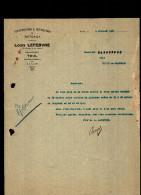 Entête  05/07/1927 - TOUL Vers VITRY Le François - Construction & Réparation De Bateaux - France