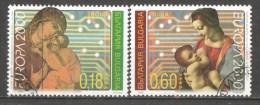 50-080 // BG - 2000     EUROPA  Mi 4453/54 O - Bulgaria
