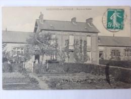 Criquetot-sur-Ouville, Mairie Et écoles. - Francia