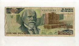 - MEXIQUE . BILLET 2000 P. 1987 . - México