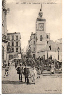 - ALGERIE - CPA Vierge ALGER - La Mosquée Et La Rue De La Marine (belle Animation) - Collection Idéale P. S. 212 - - Algerien