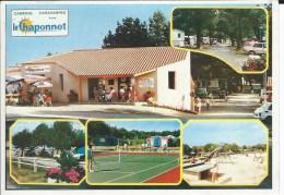 "CPM - CAMPING - 85 - BREM/MER - ""  LA CHAPONNET  "" Tennis , Petite Animation   - T.B.E - - Frankrijk"