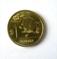 URUGUAY - 1 Peso 2012 - MULITA - - Uruguay