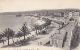 Ph-CPA Nice (Alpes Maritimes) La Terrasse Et Les Quais - Nizza