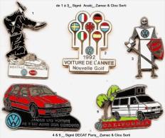 Automobile_Wolfswagen_1 Pin´s Pin´s Aux Choix Sur 5 Présentés _Envoi Gratuit - Volkswagen