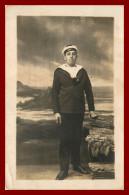 Carte Photo  ,  Théme Bateau Marin  Patrie      ( Scan Recto Et Verso ) - War, Military