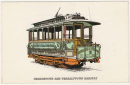 GEORGETOWN & TENALLYTOWN RAILWAY WASHINGTON D.C. UNPOSTED - Tramways