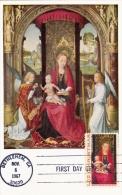 ETATS UNIS Carte Maximum - La Vierge à L'Enfant - Maximumkarten (MC)