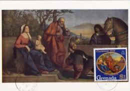 GRENADE Carte Maximum - L'Adoration - Grenada (1974-...)