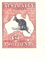 FALSCH FALKST  AUSTRALIA AUSTRALIE YVERT NR. 15 AÑOS 1912-1919 NON DENTELE SANS FILIGRANE SIN FILIGRANA MNH MINT NOT HIN