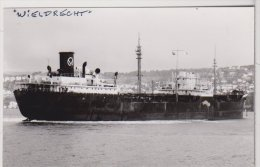 "BAT.L244 - Cargo ""WIELDRECHT""  En Navigation - G.Monteny - Schiffe"