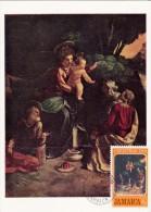 JAMAIQUE Carte Maximum - L'Adoration Des Mages - Jamaica (1962-...)