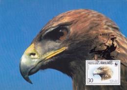 MACEDOINE Carte Maximum - Aigle Impérial - Macédoine