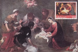 MALAWI Carte Maximum - L'Adoration Des Bergers - Malawi (1964-...)