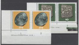 Lot DDR Michel No. 1553 , 1555 ** postfrisch DV Druckvermerk