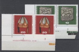 Lot DDR Michel No. 1553 , 1554 ** postfrisch DV Druckvermerk