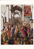 MONTSERRAT Carte Maximum - L'Adoration Des Rois - Montserrat