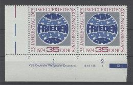 DDR Michel No. 1946 ** postfrisch DV Druckvermerk