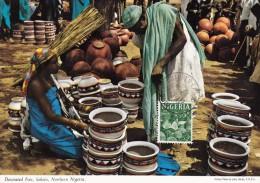 NIGERIA Carte Maximum - Sculpture - Nigeria (1961-...)