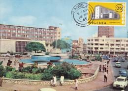 NIGERIA Carte Maximum - Banque Centrale - Nigeria (1961-...)
