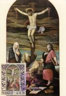 PARAGUAY Carte Maximum - Crucifixion - Paraguay