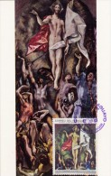 PARAGUAY Carte Maximum - La Résurrection - Paraguay
