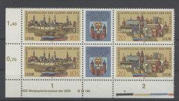 DDR Michel No. 2343 - 2344 ** postfrisch DV Druckvermerk
