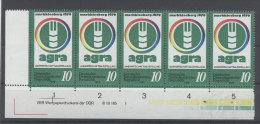 DDR Michel No. 2428 ** postfrisch DV Druckvermerk