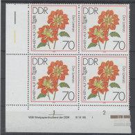 DDR Michel No. 2440 ** postfrisch DV Druckvermerk