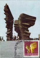 POLOGNE Carte Maximum - Monument Aux Insurgés - Maximumkarten