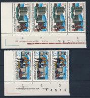 Lot DDR Michel No. 2706 , 2707  ** postfrisch DV Druckvermerk