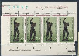 Lot DDR Michel No. 2874 , 2875 ** postfrisch DV Druckvermerk