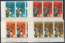 Lot DDR Michel No. 2898 , 2899 , 2900 , 2901 ** postfrisch DV Druckvermerk