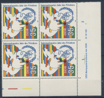 DDR Michel No. 3036 ** postfrisch DV Druckvermerk