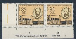 DDR Michel No. 3089 ** postfrisch DV Druckvermerk