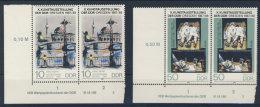 Lot DDR Michel No. 3124 , 3125 ** postfrisch DV Druckvermerk