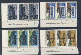 Lot DDR Michel No. 3203 , 3204 , 3205 , 3206 ** postfrisch DV Druckvermerk