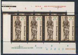 Lot DDR Michel No. 3285 , 3287 ** postfrisch DV Druckvermerk