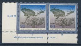 DDR Michel No. 3314 ** postfrisch DV Druckvermerk