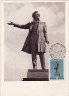 URSS Carte Maximum - Pouchkine - Russie & URSS