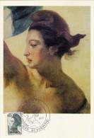 ST.PIERRE & MIQUELON Carte Maximum - Liberté De Gandon - Cartes-maximum