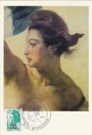ST.PIERRE & MIQUELON Carte Maximum - Liberté De Gandon - Maximumkaarten