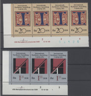 Lot DDR Michel No. 3245 , 3247 ** postfrisch DV Druckvermerk