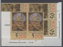 Lot DDR Michel No. 3269 , 3272 ** postfrisch DV Druckvermerk