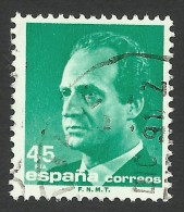 Spain, 45 P. 1985, Sc # 2436, Mi # 2683, Used. - 1931-Aujourd'hui: II. République - ....Juan Carlos I