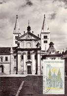 TCHECOSLOVAQUIE Carte Maximum - Basilique Saint-Georges - Sonstige