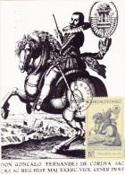 TCHECOSLOVAQUIE Carte Maximum - Don F. De Cordova - Checoslovaquia