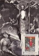 TCHECOSLOVAQUIE Carte Maximum - Résurrection - Tsjechoslowakije