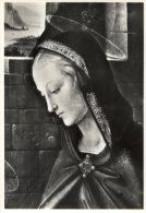"""Perugia - Cartolina ADORAZIONE DEI MAGI (particol. """"Testa Della Vergine"""") Del PERUGINO, Galleria Nazionale - OTTIMA L59 - Perugia"""
