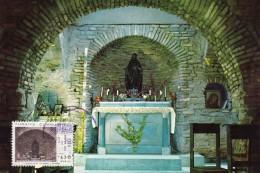 TURQUIE Carte Maximum - Maison De La Vierge - Turkey